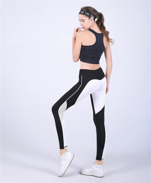 Push Up Mesh Heart Slim Workout Yoga Legging Verkadi.com
