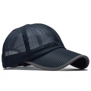 Fashion Unisex Mesh Breathable Baseball Cap