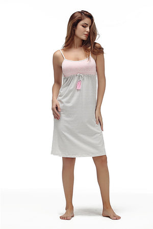 Sexy Cotton Camisole Nightgown Sleepwear Verkadi.com