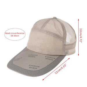 Smart Unisex Mesh Adjustable Fishing Baseball Cap