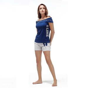 Smart Cotton Slash Neck Sleepwear Pajama Set Verkadi.com