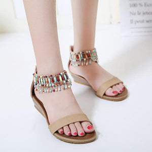 New Trendy Roman Design Style Handmade Sandals Verkadi.com