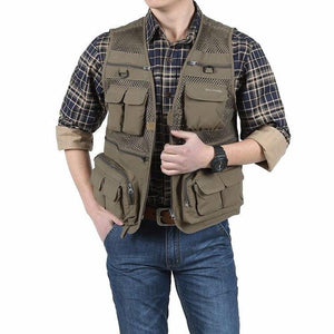 Smart Sleeveless Photographer Reporter Vest