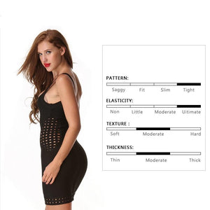 Hot Spaghetti Strap Hollow Out Bodycon Party Club Dress Verkadi.com
