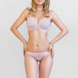 Wire Free Thin Bra and Pantie Set Verkadi.com