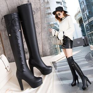 Trendy Over The Knee Thigh High Heel Stiletto Boots verkadi.com