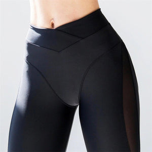 Sexy Breathable Push Up Women Yoga Pants Tights Leggings
