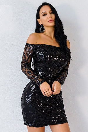Sequin Women Mini Party Dress