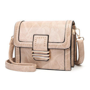 Hip Designer Riveted Cross Body Shoulder Bag