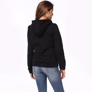 Smart Comfortable Long Sleeve Zip Street Wear Hoodie Sweatshirt Verkadi.com