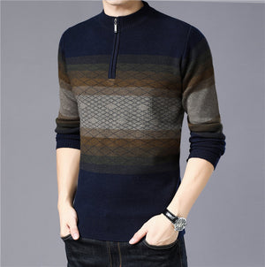 Modish Turtleneck Men Cashmere Sweaters Pullover