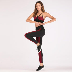 Smart Casual Sporting Fitness Workout Sportswear Yoga Set