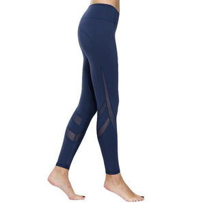 Yoga Fitness Tight Mesh Leggings
