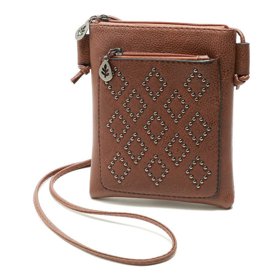 Fashion Leather Satchel Zipper Shoulder Cross Body Bag
