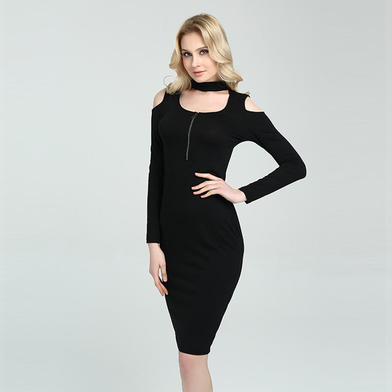 Sexy Bodycon Long Sleeve Casual Club Party Dress Verkadi.com