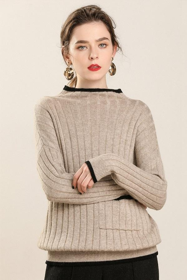 Pure Cashmere Soft Turtleneck Sweaters Pullovers