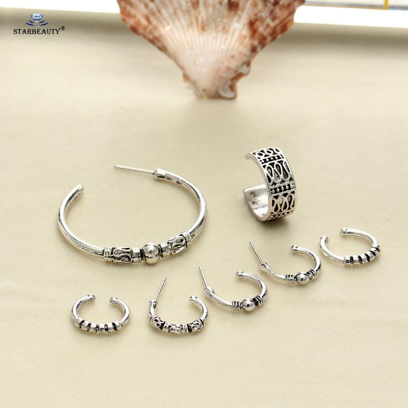 Moon Star Ear Piercing Set