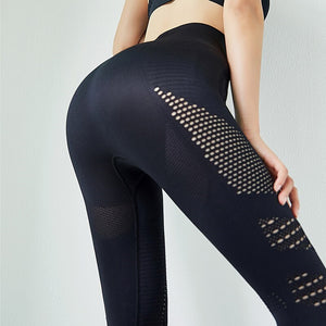 Hot Seamless High Waist Gym Fitness Yoga Sport Women Leggings