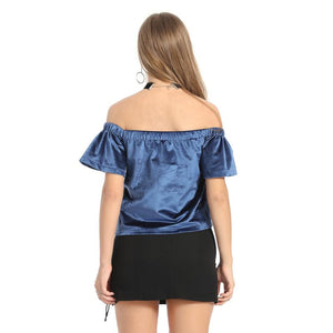 Sexy Casual Unicorn Sexy Off Shoulder Top Verkadi.com