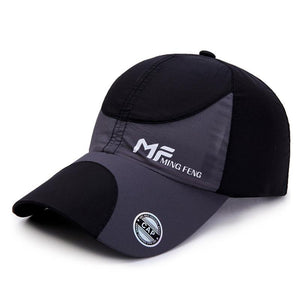 Style Unisex Breathable Mesh Snap Back Baseball Cap