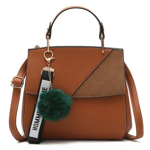 Soft Pu Leather Hand Shoulder Bag