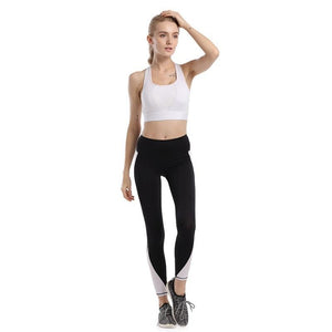 Cross Back Women Sportswear Yoga Set