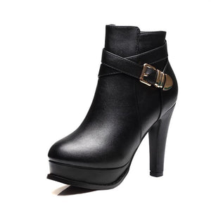 Hot New Ankle Buckle Zipper Modern Shoes Verkadi.com