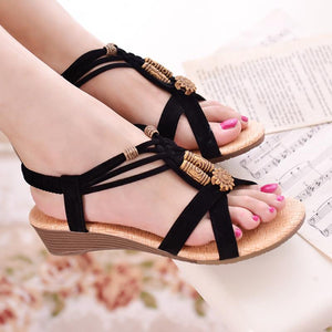 Fashion Wedge Slip On Back Strap Sandals Verkadi.com