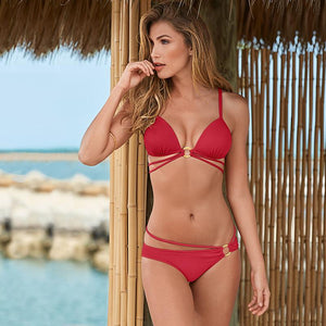 Sexy  Push up Swimwear Bikini Set Verkadi.com