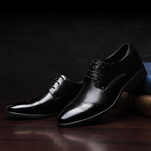 Genuine Leather Oxford Dress Shoes