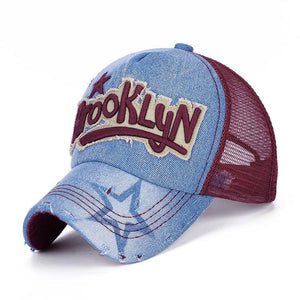 Summer Brooklyn Sun Baseball Caps for Women