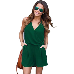 Sleeveless V Neck Tunic Summer Dress verkadi.com
