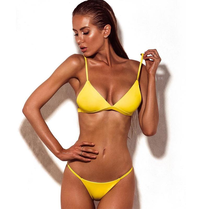 New Brazilian Beachwear Bikini Set