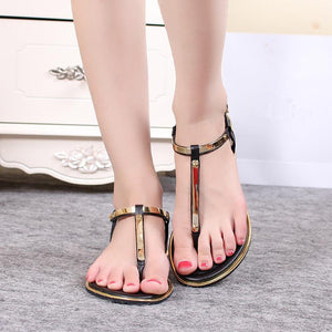 New Casual Summer Women  Flat Fashion Sandals