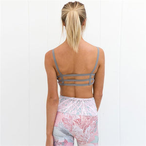 Stretch 3 D Print Women Sportswear Yoga Set
