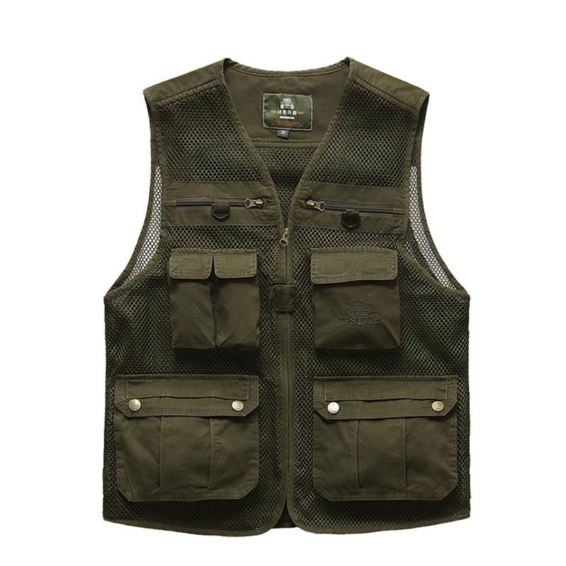 Mesh Breathable Outdoor Travel Vest Verkadi.com