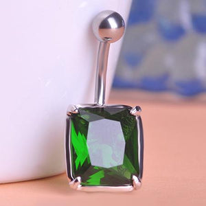 Light Rhinestone Gothic Navel Piercing Belly Button Ring Verkadi.com