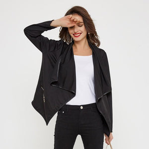 Smart European Style Turn Down Collar Street Wear Jacket