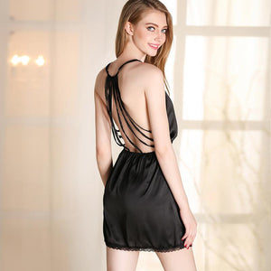 Sexy Intimate Nightgown Lingerie with G-string Verkadi.com