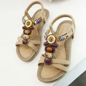 Bohemia Gladiator Summer Women Flat Sandals Verkadi.com