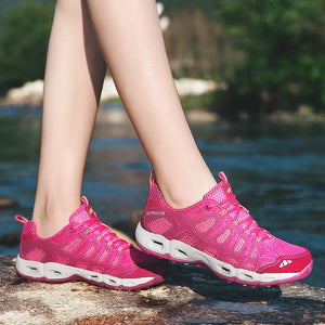 Stylish Training and Hiking Breathable Sneakers
