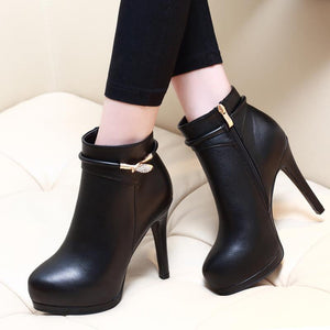 Fashion High Heel Ankle Sexy Women Pumps Boots Verkadi.com