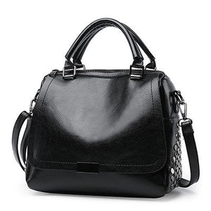 New PU Leather Casual Tote Vintage Handbag Bag Verkadi.com