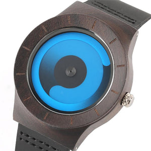 Quartz Bamboo Wood Men Wristwatch Verkadi.com