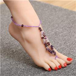 New Flower Ankle Foot Chain Bracelet (Over 18 Designs)