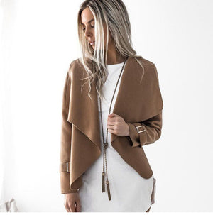 Stylish Long Sleeve Cardigan Jacket Verkadi.com