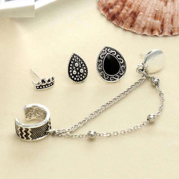 4pcs 16G  Nose Ear Lip Piercing Set Verkadi.com
