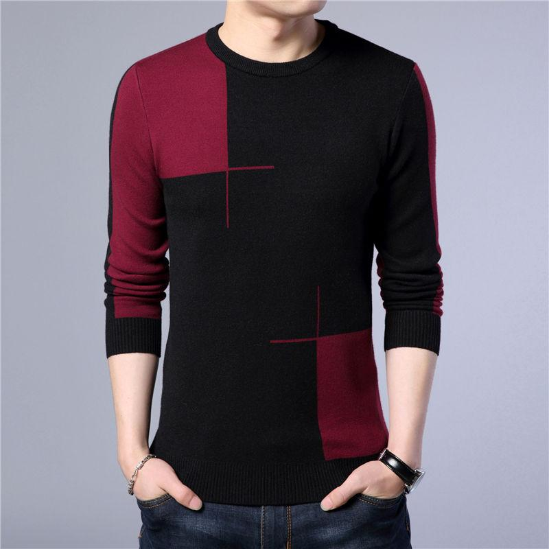 Cashmere Sweater Men Casual O-Neck Pullover