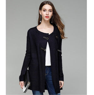 Hot Long Knitted Open Stitch Soft Sweater Cardigan