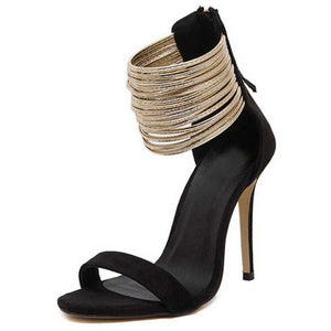 New Thin High Heel Open Toe Party Sandals
